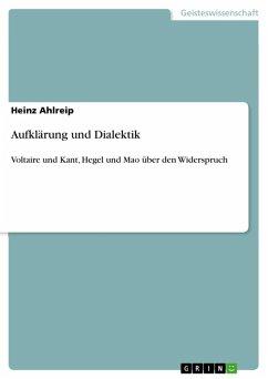 Aufklärung und Dialektik (eBook, ePUB)