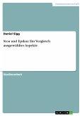 Stoa und Epikur. Ein Vergleich ausgewählter Aspekte