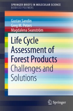 Life Cycle Assessment of Forest Products - Sandin, Gustav;M. Peters, Greg;Svanström, Magdalena