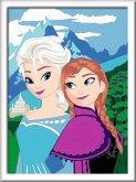 Ravensburger 28578 - Malen nach Zahlen, Elsa und Anna, Malset