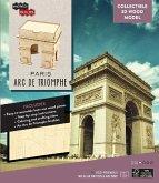IncrediBuilds: Paris: Arc de Triomphe 3D Wood Model
