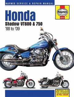 Honda Shadow VT600 & 750 USA Automotive Repair Man