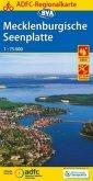 ADFC Regionalkarte Mecklenburgische Seenplatte