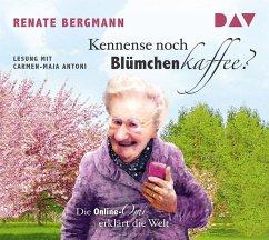 Kennense noch Blümchenkaffee? / Online-Omi Bd.3 (1 Audio-CD) - Bergmann, Renate
