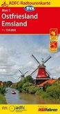ADFC-Radtourenkarte Ostfriesland / Emsland
