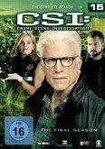 CSI: Crime Scene Investigation - Staffel 15 DVD-Box