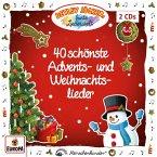 40 schönste Advents- und Weihnachtslieder, 2 Audio-CDs
