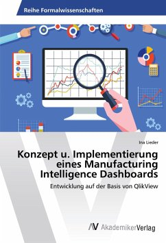 Konzept u. Implementierung eines Manufacturing Intelligence Dashboards