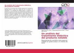 Un análisis del tratamiento didáctico del producto notable