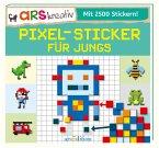 Pixel-Sticker für Jungs (Mängelexemplar)
