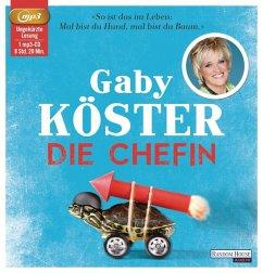 Die Chefin (1 MP3-CD) (Mängelexemplar) - Köster, Gaby