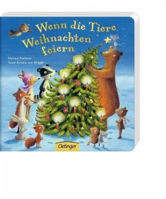 Wenn die Tiere Weihnachten feiern (Mängelexemplar) - Rachner, Marina; Zur Brügge, Anne-Kristin