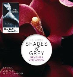 Geheimes Verlangen / Shades of Grey Trilogie Bd.1 (2 MP3-CDs) (Mängelexemplar) - James, E L