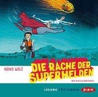 Die Rache der Superhelden, 2 Audio-CDs (Mängelexemplar) - Wolz, Heiko