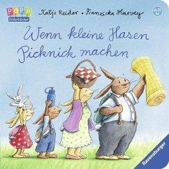 Wenn kleine Hasen Picknick machen (Mängelexemplar) - Reider, Katja