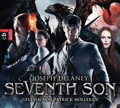 Seventh Son, 4 Audio-CDs (Mängelexemplar) - Delaney, Joseph