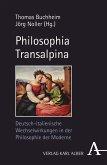 Philosophia Transalpina (eBook, PDF)