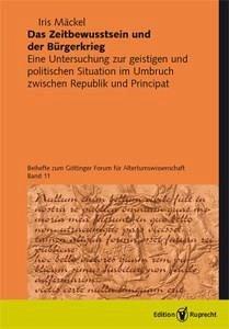 Das Zeitbewusstsein und der Bürgerkrieg (eBook, PDF) - Mäckel, Iris