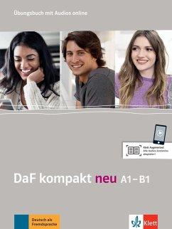 DaF kompakt neu A1-B1. Übungsbuch + MP3-CD