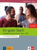 Ein guter Start! Kurs- und Übungsbuch + Audios online, Englisch