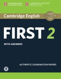 Cambridge English First 2. Student's Book with answers with downloadable Audio
