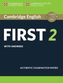 Cambridge English First 2. Student's Book with answers