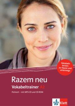Vokabeltrainer A2, m. MP3-CD u. CD-ROM / Razem ...