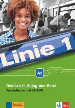 Linie 1 A2. Vokabeltrainer mit CD-ROM