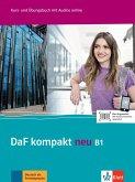 DaF kompakt neu B1. Kurs- und Übungsbuch + MP3-CD