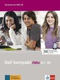 DaF kompakt neu A1-B1. Kursbuch + MP3-CD