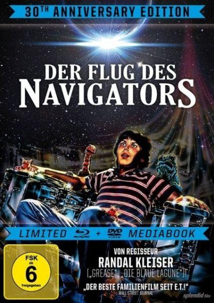 der flug des navigators limited mediabook dvd auf blu. Black Bedroom Furniture Sets. Home Design Ideas
