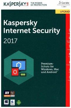 Kaspersky Internet Security 2017 3 Geräte Upgrade