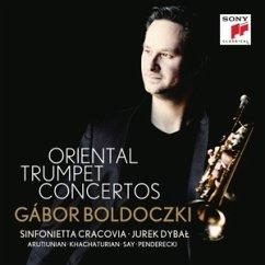 Oriental Trumpet Concertos - Boldoczki,Gabor/Sinfonietta Cracovia/Dybal,Jurek
