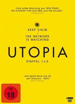 Utopia - Staffel 1 und 2 DVD-Box - Stewart-Jarrett,Nathan/Higgins,Paul/+