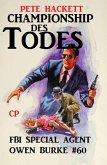 Championship des Todes: Owen Burke #60 (eBook, ePUB)