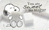 "United Labels 0121738 - Peanuts, Frühstücksbrettchen Snoopy - ""You are sweet like sugar"""