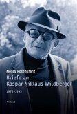 Briefe an Kaspar Niklaus Wildberger 1978-1993