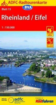 ADFC-Radtourenkarte 15 Rheinland /Eifel