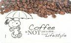 Peanuts - Frühstücksbrettchen Snoopy: Coffee is not just a drink...