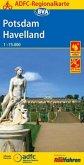 ADFC-Regionalkarte Potsdam Havelland mit Tagestouren-Vorschlägen, 1:75.000, reiß- und wetterfest, GPS-Tracks Download