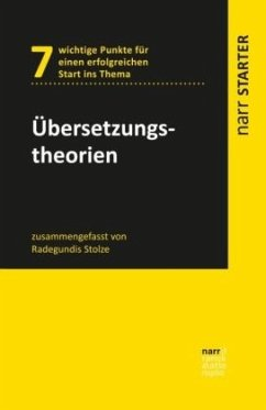 Übersetzungstheorien - Stolze, Radegundis