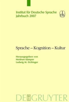 Sprache - Kognition - Kultur (eBook, PDF)