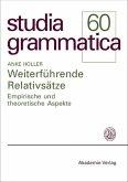 Weiterführende Relativsätze (eBook, PDF)