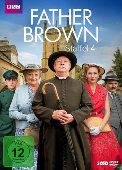 Father Brown - Staffel 4 (3 Discs) - Williams,Mark/Chambers,Tom/Cusack,Sorcha