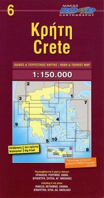Crete / Kreta 1 : 150 000