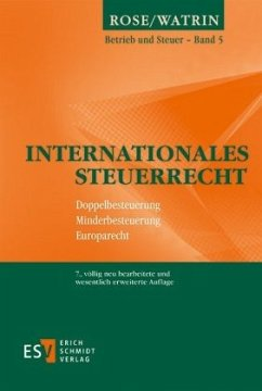 Internationales Steuerrecht - Watrin, Christoph