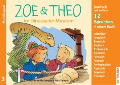 ZOE & THEO im Dinosaurier-Museum (Multilingual!) - Metzmeyer, Catherine