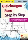 Gleichungen lösen - Step by Step