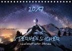 Sternensucher - Landschaft unter Sternen (Tischkalender 2017 DIN A5 quer)