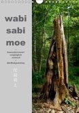 wabi sabi moe - bewundernswert vergänglich erotisch - Akt/Bodypainting (Wandkalender 2017 DIN A4 hoch)